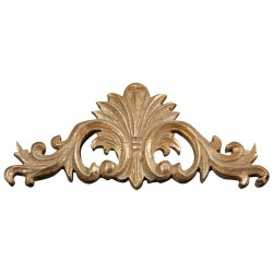 Frieze 34cm gold golden baroque style resin wall decorative element decor