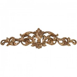 Frieze 48cm gold golden baroque style resin wall decorative element decor