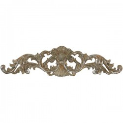 Frieze 45cm silver baroque style resin wall decorative element decor