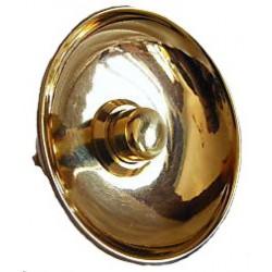 Pulsante 5.7cm campanello ottone pulsantiera a cupola piccolo