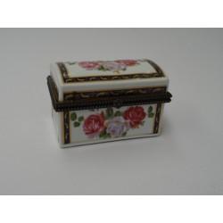 Portagioie scatolina ceramica dipinte cofanetto porta pillole