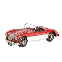 Modellino macchina in latta Austin corsa modellismo collezione collezionismo