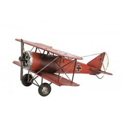 Modellino aereo in latta croce barone rosso modellismo collezionismo