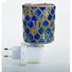 Luce notturna da muro lucina notte rompibuio cameretta mosaico blu