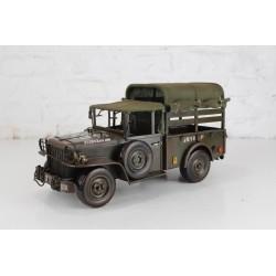 Modellino Jeep camion militare latta modellismo collezione collezionismo auto