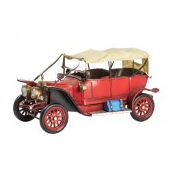 Modellino macchina antica in latta rosso modellismo collezione collezionismo