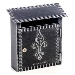 Cassetta postale porta posta buca lettere ferro battuto artigianato italiano