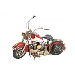 Modellino moto motocicletta in latta rosso modellismo collezione collezionismo