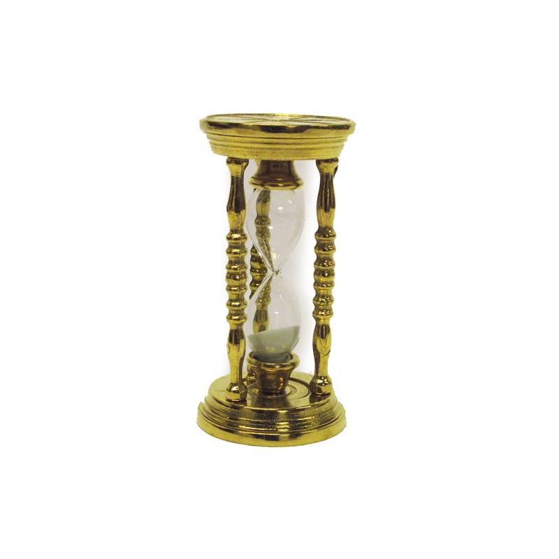 Clessidra da scrivania tavolo ottone lucido contaminuti idea regalo segnatempo virginia 39 s cottage - Clessidra da tavolo ...