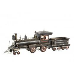 Modellino modello treno in latta nero modellismo collezionismo collezione