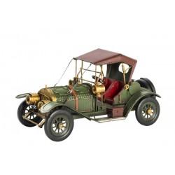 Modellino macchina antica in latta verde modellismo collezione vintage