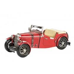 Modellino macchina in latta rosso cabrio modellismo collezione collezionismo