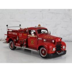 Modellino macchina camion pompieri latta modellismo collezione collezionismo