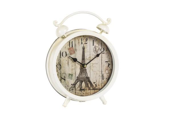 Orologio sveglia ferro torre eiffel parigi paris shabby chic da