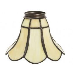 Paralume stile Tiffany 16cm petalo fiore lampada applique