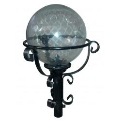 Lampione Sfera da giardino 32cm lanterna esterno ferro battuto