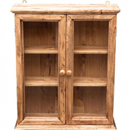 Vetrinetta legno massello pensile country vintage da appendere vetrina  mobile - Virginia\'s Cottage