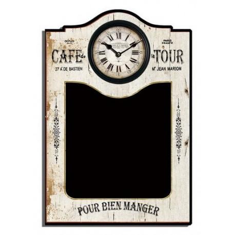 Orologio da parete legno caffè lavagna cucina ristorante - Virginia\'s  Cottage
