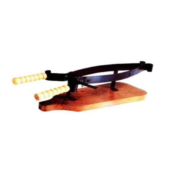 Morsa ferma prosciutto stringiprosciutto legno ferro battuto porta prosciutto