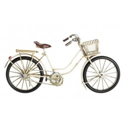 Modellino bicicletta in latta donna modellismo collezionismo