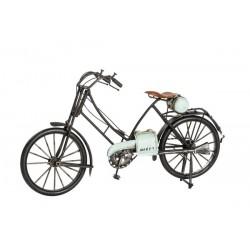 Modellino bicicletta in latta uomo modellismo collezionismo