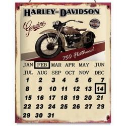 Pannello targa calendario moto motocicletta Harley Davidson