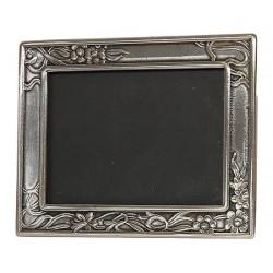 Portafoto cornice 14cm Impero porta foto silver argento