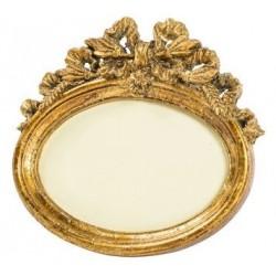 Portafoto cornice ovale nastro barocco porta foto fotografie