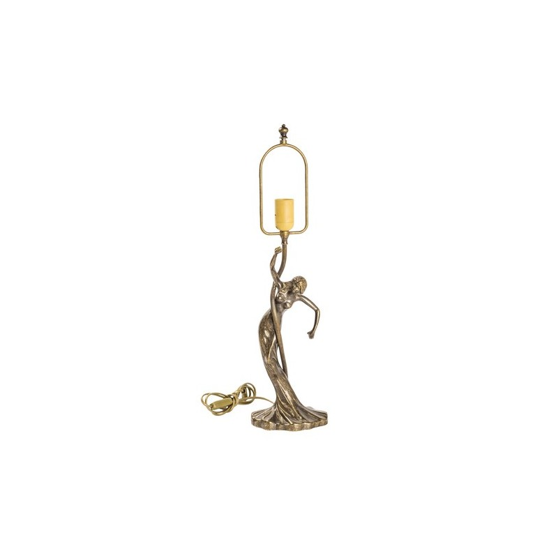 Base Per Lampada 60cm In Ottone Brunito Tavolo Donna Virginia S Cottage