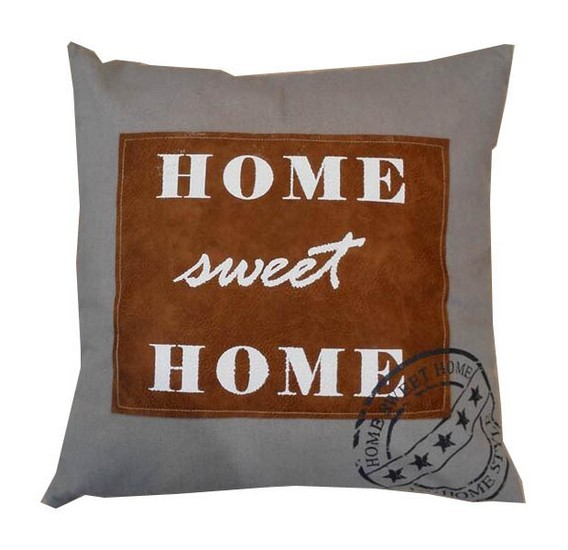 Cuscini Divano Shabby.Cuscino Divano Arredo Casa Tessuto Home Sweet Home Shabby Chic