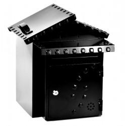 Cassetta postale posta in ferro con porta pane made in Italy