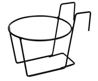 Portavaso 26cm Ferro Singolo Da Appendere Fioriere Balcone