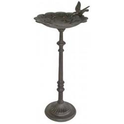 Abbeveratoio beverino uccelli uccellini ghisa giardino 58cm