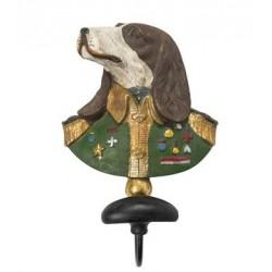Appendiabiti busto cane militare appendino appendi abiti