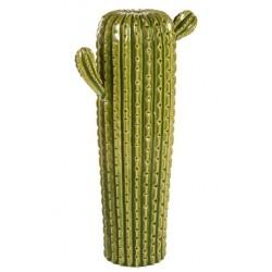 Cactus verticale vaso ceramica soprammobile 60cm