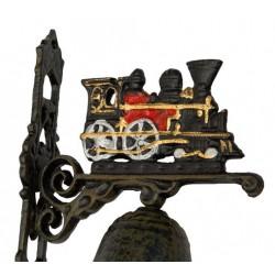 Campana 17cm in ghisa da appendere treno trenino