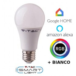 Lampadina Smart Home luce calda compatibile Google home, Amazon Alexa