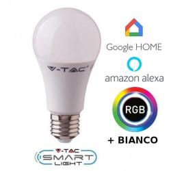 Lampadina Smart Home luce calda compatibile Google home, Amazon Alexa