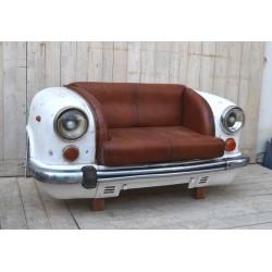 Divano sofà a due posti automobile stile industrial